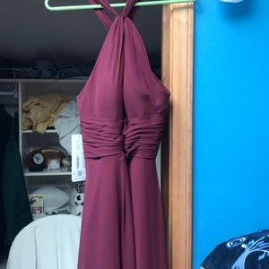 NEVER WORN Cabernet Long Dress